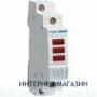 Светодиодный индикатор 3-фаз Hager SVN127 красный 230В АС