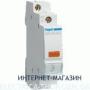 Светодиодный индикатор фаз Hager SVN123 желтый 230В АС