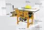 Комбинированный деревообрабатывающий станок FDB MLQ 343