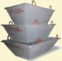 Тара для раствора ТР-0,5 лодочка